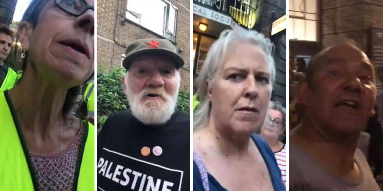 At event defending Labour over anti-Semitism, Jews are abused with vile anti-Semitism