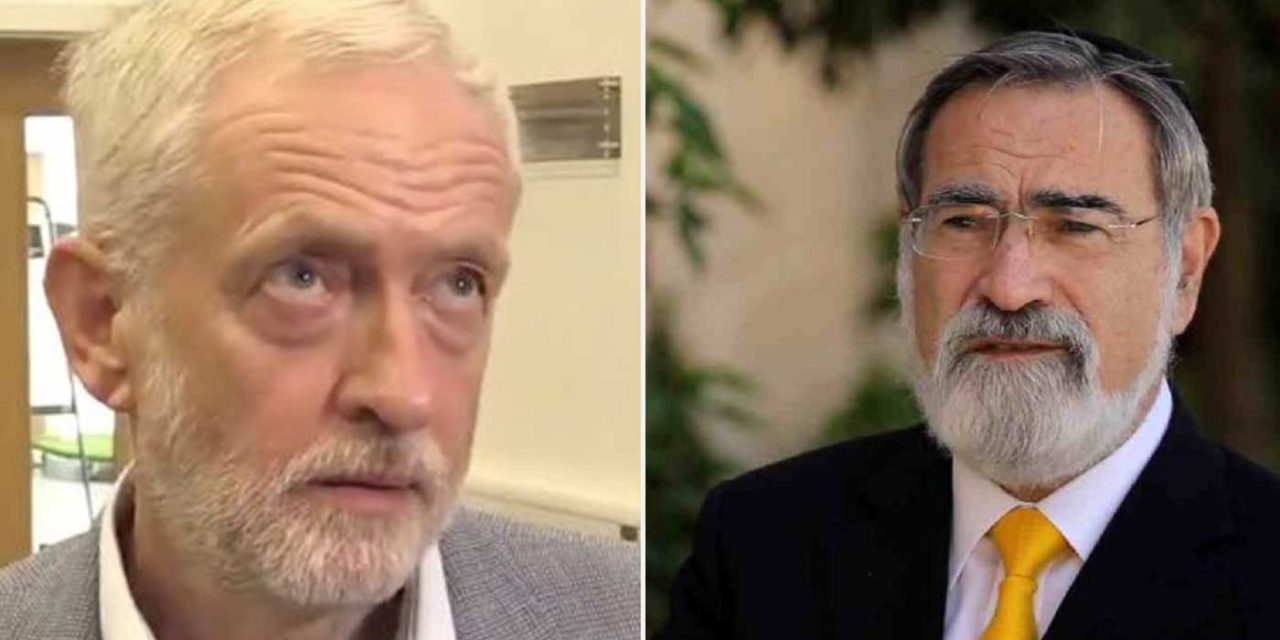 Labour's response to Lord Rabbi Sacks shows they cannot tackle anti-Semitism