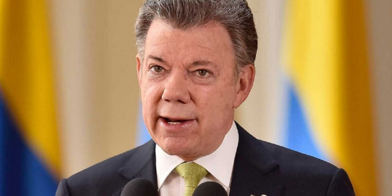 Colombian president recognises Palestinian state before leaving office