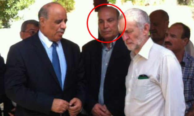 Corbyn pictured with senior member of group responsible for murder of British Rabbi
