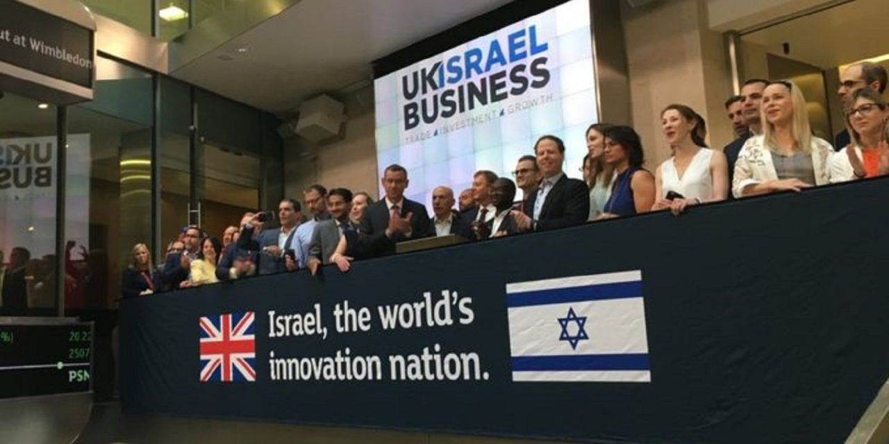 Israeli tech investment in UK sees 33% GROWTH since Brexit referendum