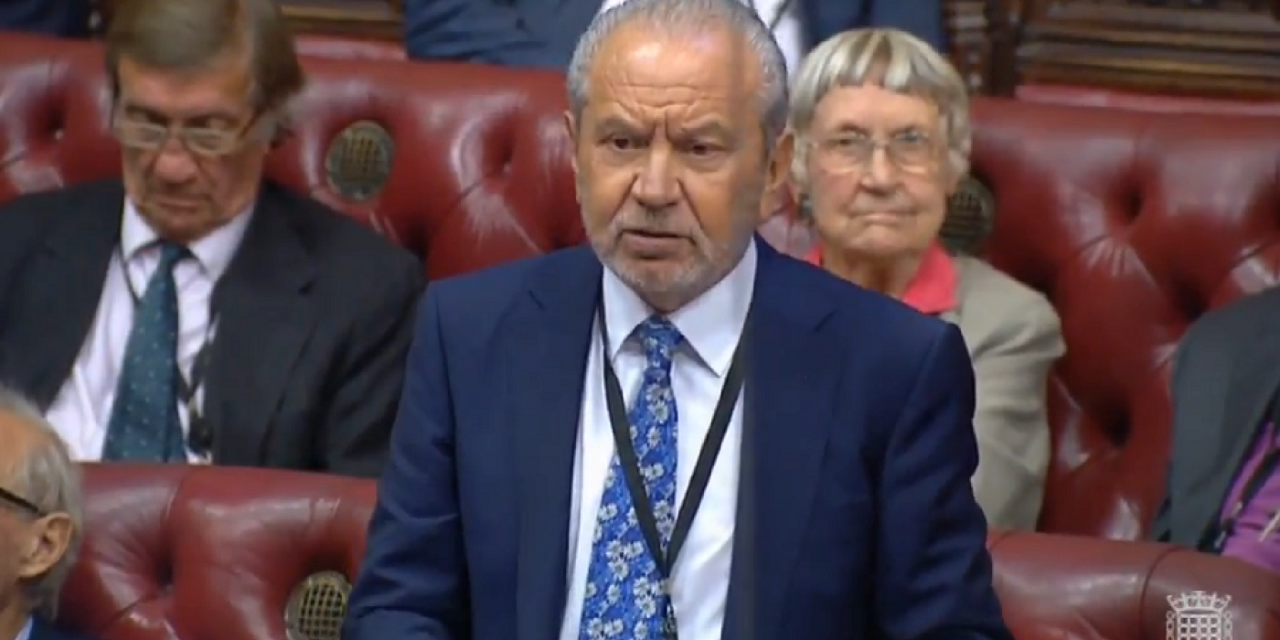 "Lord Sugar: If Corbyn becomes PM that will ""be the day Britain died"""