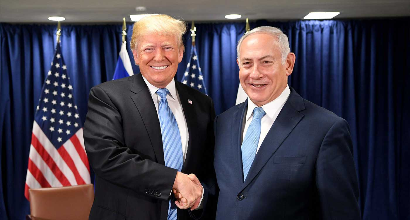 """Trump: We will retain US troops in Middle East """"to protect Israel"""""""