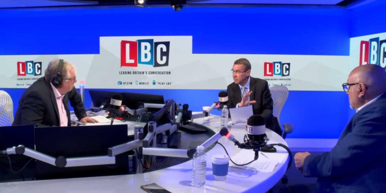 Israel Ambassador debates Palestinian envoy live on LBC