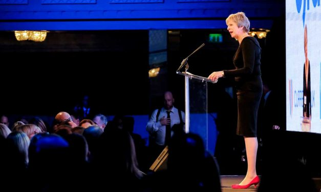 """Theresa May: """"We proudly support Israel as the homeland for the Jewish people"""""""