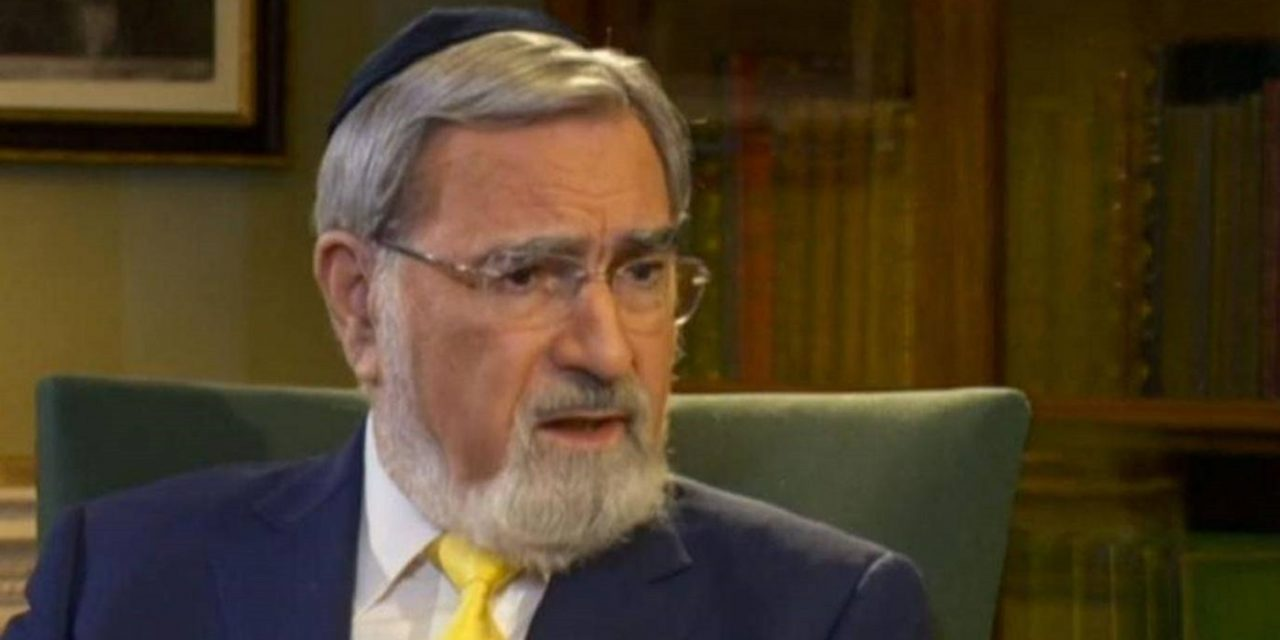"WATCH: Jeremy Corbyn must ""REPENT"" over Zionist remarks, says Lord Rabbi Sacks"