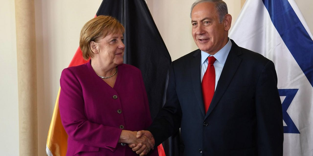 "Netanyahu tells Merkel: ""Forces of radical Islam"" must be defeated together"