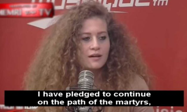 "Ahed Tamimi says Palestinians on ""path of martyrs"" to ""liberate all Palestine"""