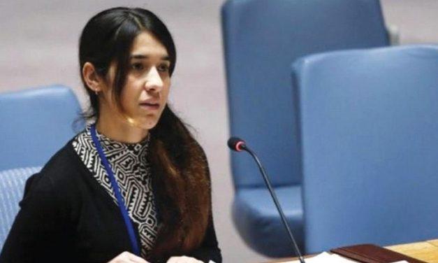 "Nobel Peace Prize winner, Nadia Murad: ""Israel a beacon of hope for Yazidis"""