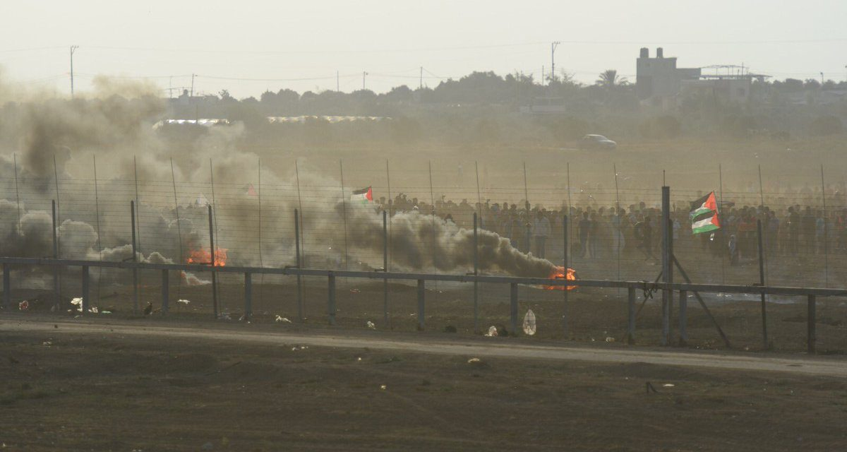 Netanyahu warns Hamas after Palestinian terrorists blew hole in Gaza fence, entered Israel and charged IDF