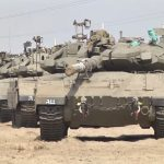 Israel deploys dozens of tanks to Gaza border amid escalation of Palestinian violence