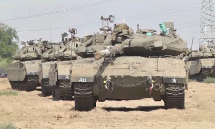 Israel deploys dozens of tanks to Gaza border amid escalation of Palestinian violence