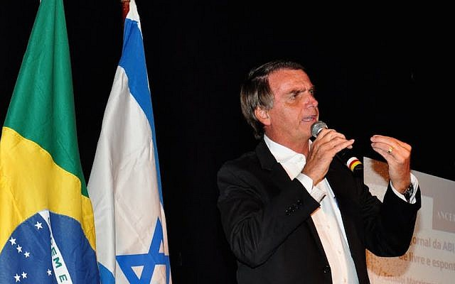 Brazil's president-elect plans to move embassy to Jerusalem