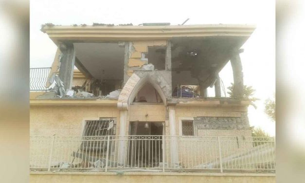 Israeli home hit by Hamas rocket, mother and three children escape unharmed