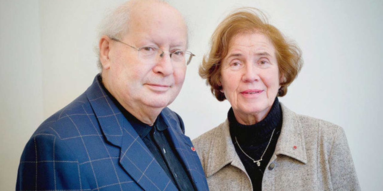 Famous Nazi hunter couple honoured by France