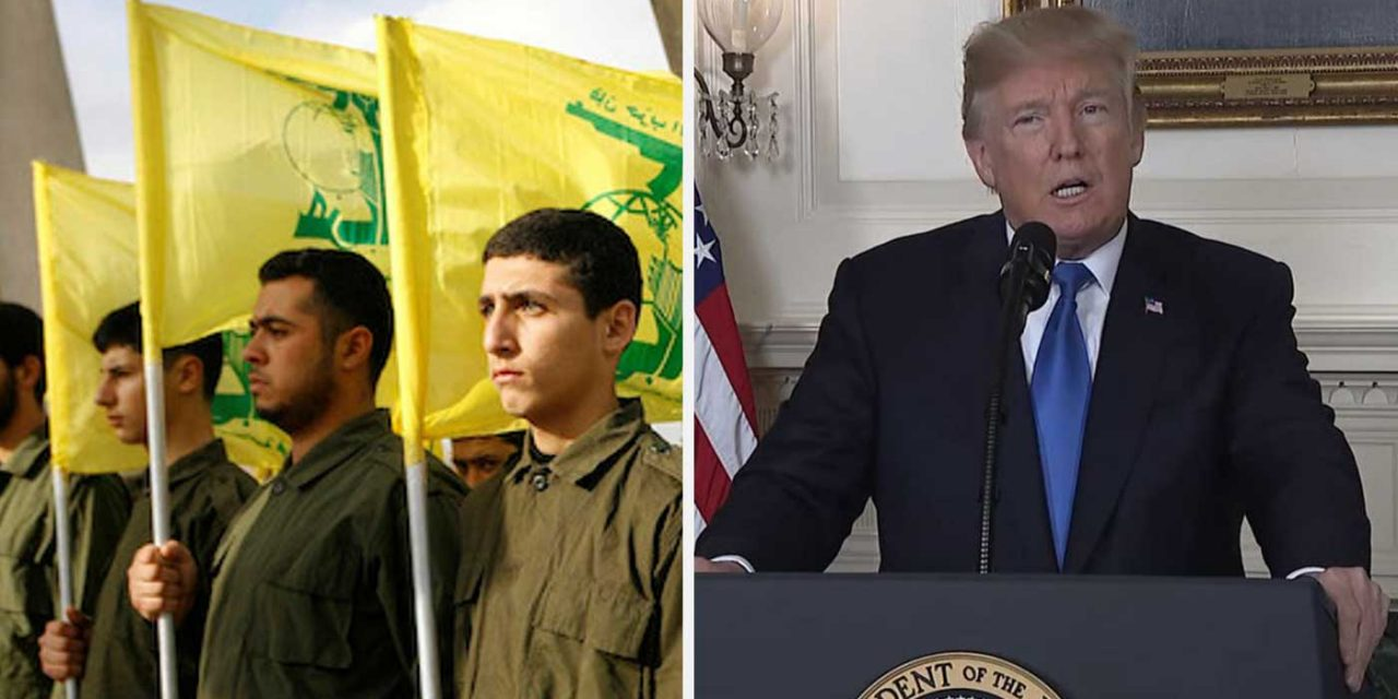 President Trump signs new sanctions on Hezbollah restricting Iran further