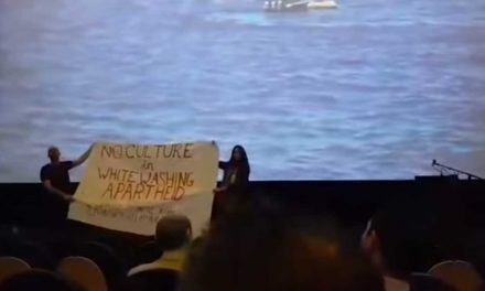 Anti-Israel activists disrupt Holocaust film screening in Berlin