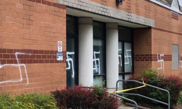 Jewish Community Centre vandalised with swastikas in Virginia