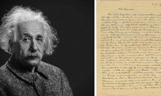 WATCH: Einstein's letter warns of rising German anti-Semitism more than TEN YEARS before Nazis came to power