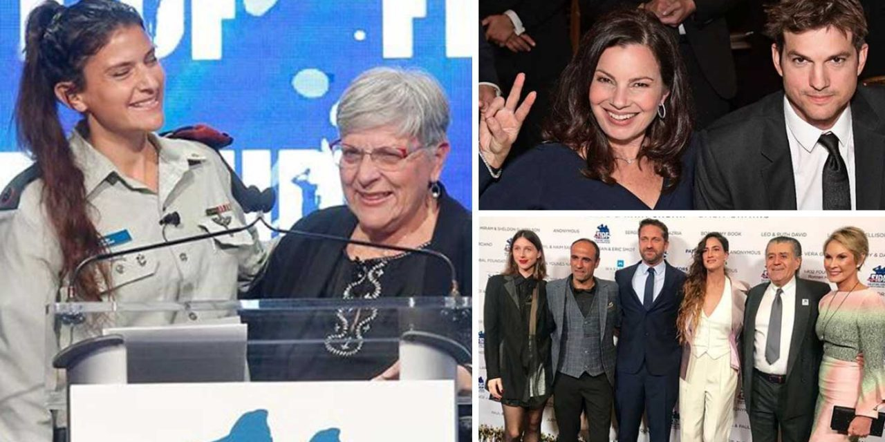 Celebrities help raise record $60 million for Israel Defense Forces