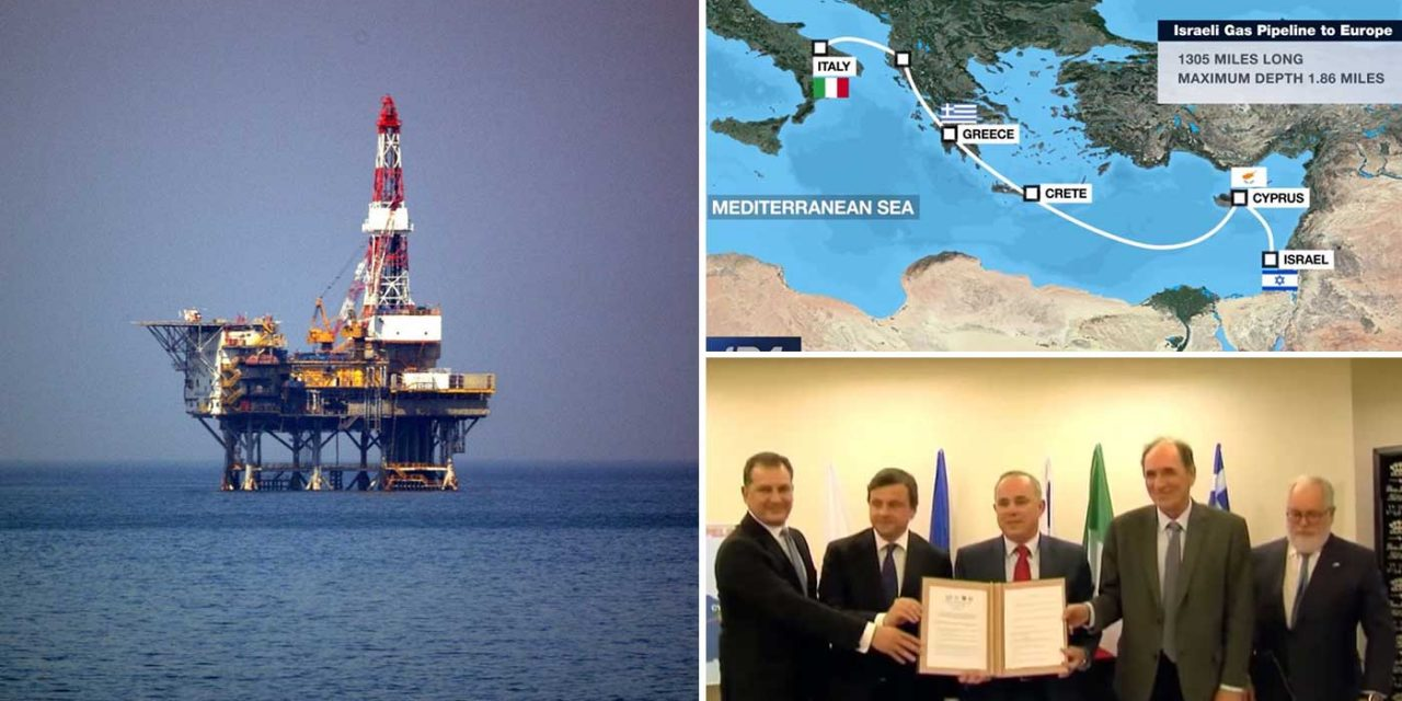 Israel and Europe agree deal for world's longest gas pipeline giving major boost to Israel