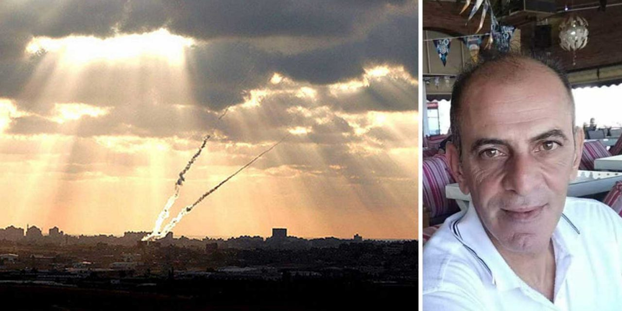One killed in Israel, dozens injured as Hamas fires 400 rockets at civilians