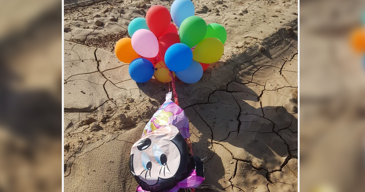 "Explosive ""Minnie Mouse"" terror balloon from Gaza lands at Israeli KINDERGARTEN"