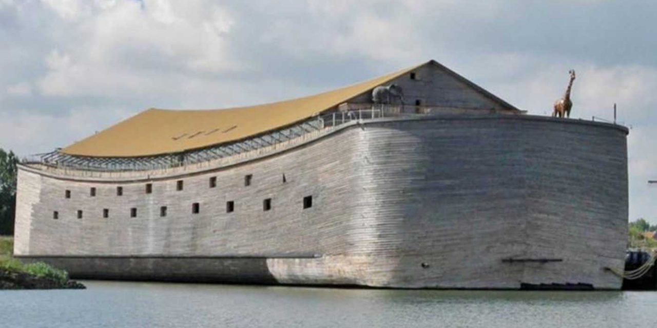 Builder of life-size Noah's Ark plans to sail boat to Israel