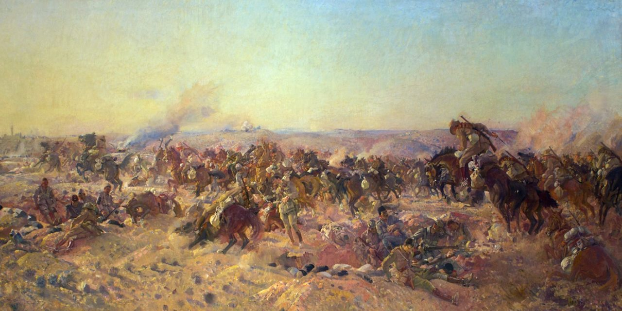 Remembering the sacrifice in Sinai and Palestine during World War One