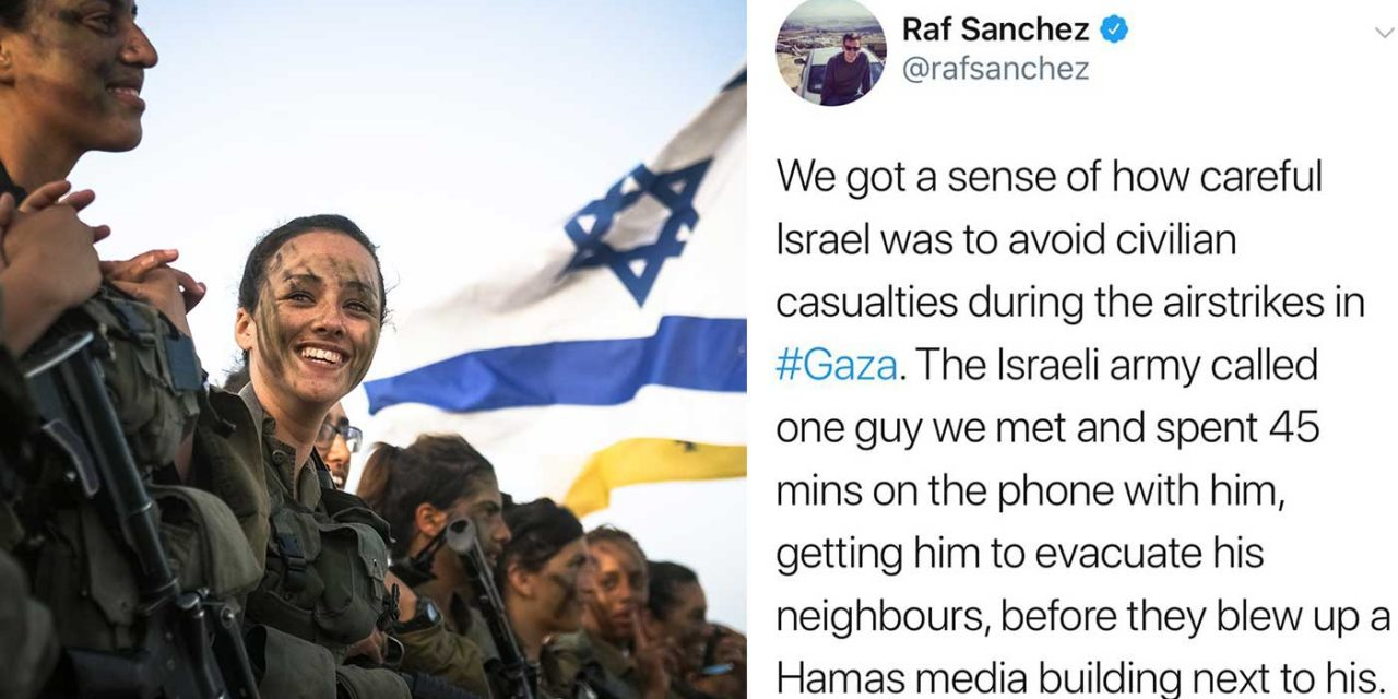 Telegraph reporter in Gaza reveals how careful Israel was to avoid civilian casualties