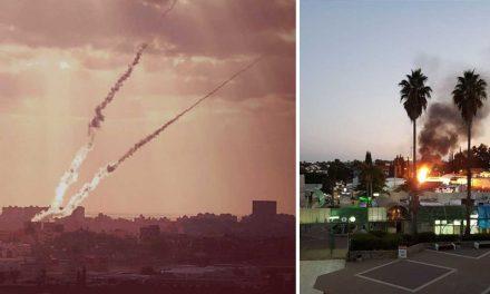 Major escalation in violence as Gaza terrorists fire 80+ rockets at Israel