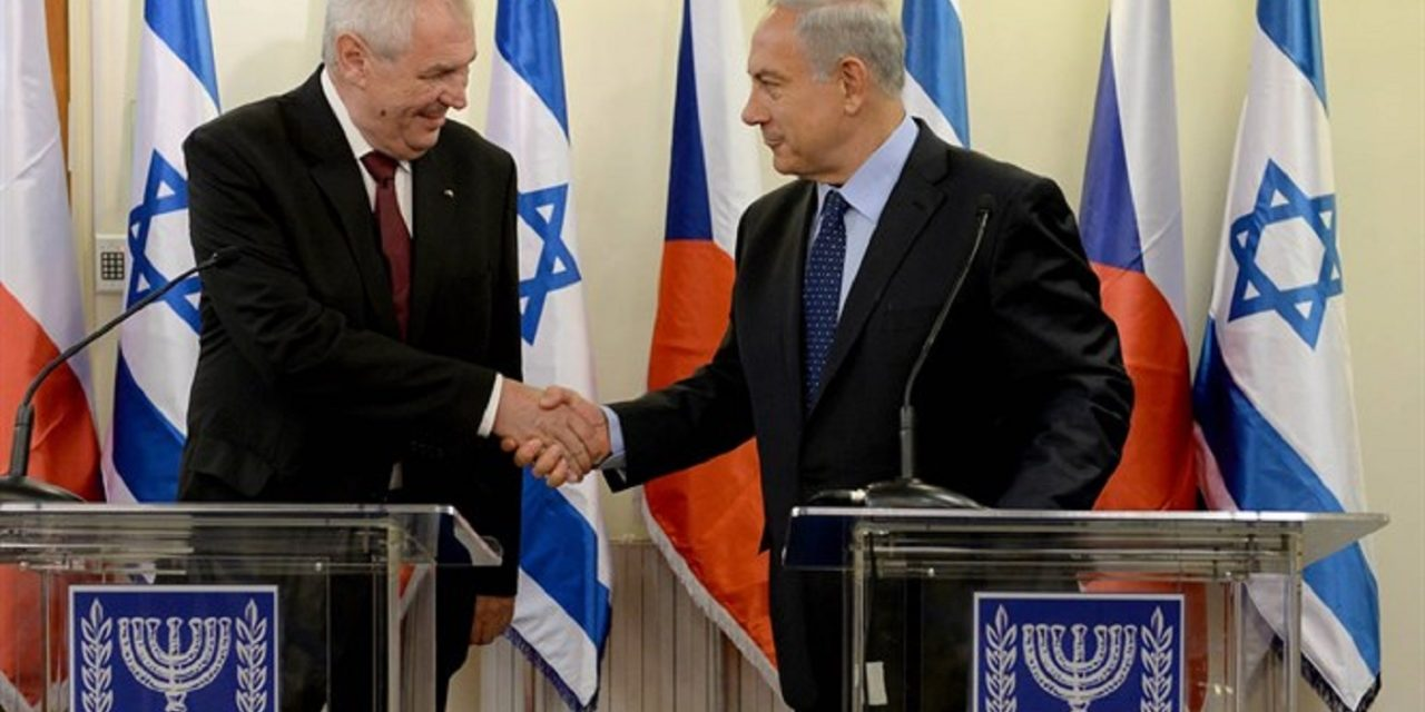Czech president is trying to move embassy to Jerusalem despite opposition