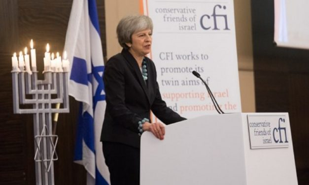 "Theresa May: UK-Israel ties are ""stronger than ever"""