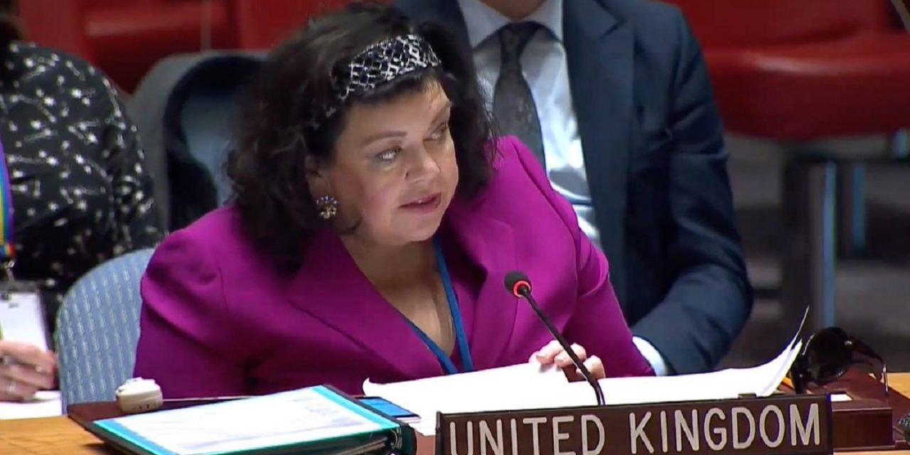 UK closes UN statement on Hezbollah with disappointing condemnation of Israel