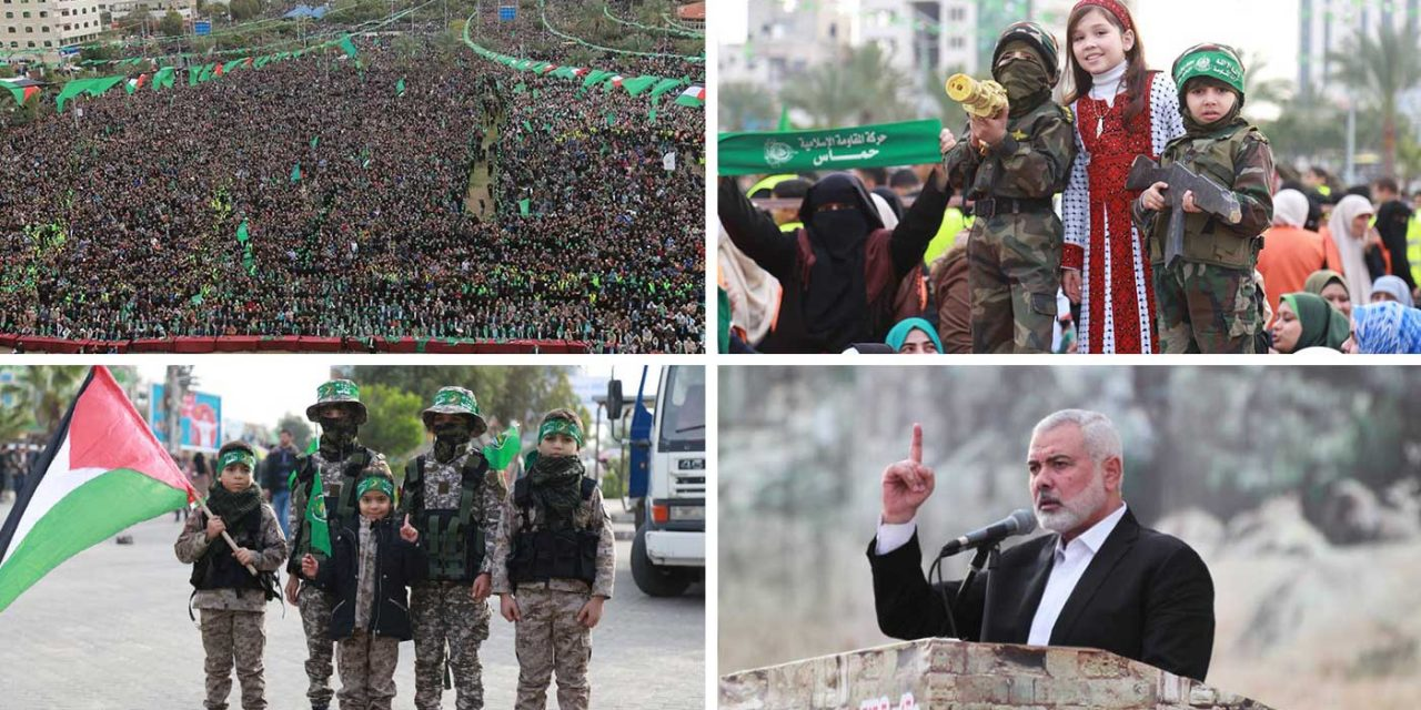 Tens-of-thousands celebrate 31st anniversary of Hamas in Gaza