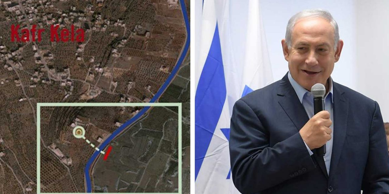 Netanyahu expresses pride as IDF uncovers first terror tunnel dug by Hezbollah into Israel
