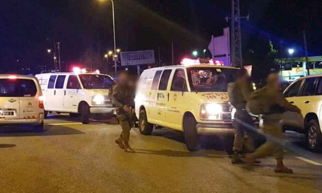 Palestinian terrorists shoot pregnant woman and four others at bus stop in Israel, mother and baby fighting for life