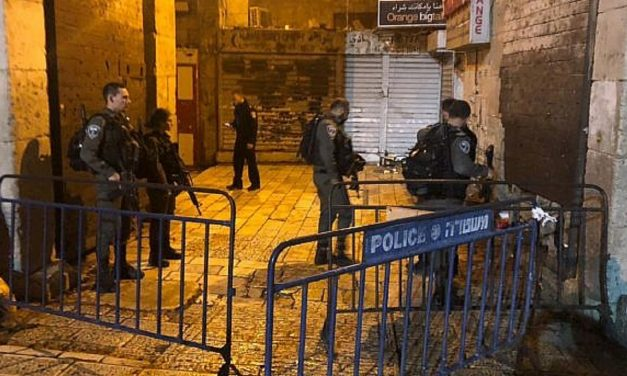 Two Israeli police officers stabbed in Jerusalem's Old City