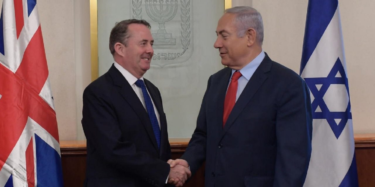 Israel becomes FIRST country to finalise post-Brexit trade deal with UK