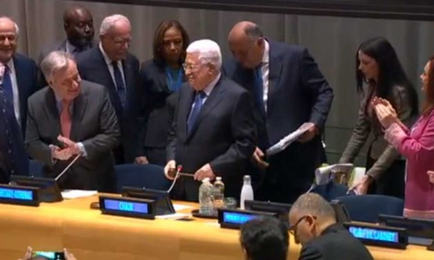 """Palestine"" takes reins of largest UN voting bloc representing 80% of world's population"