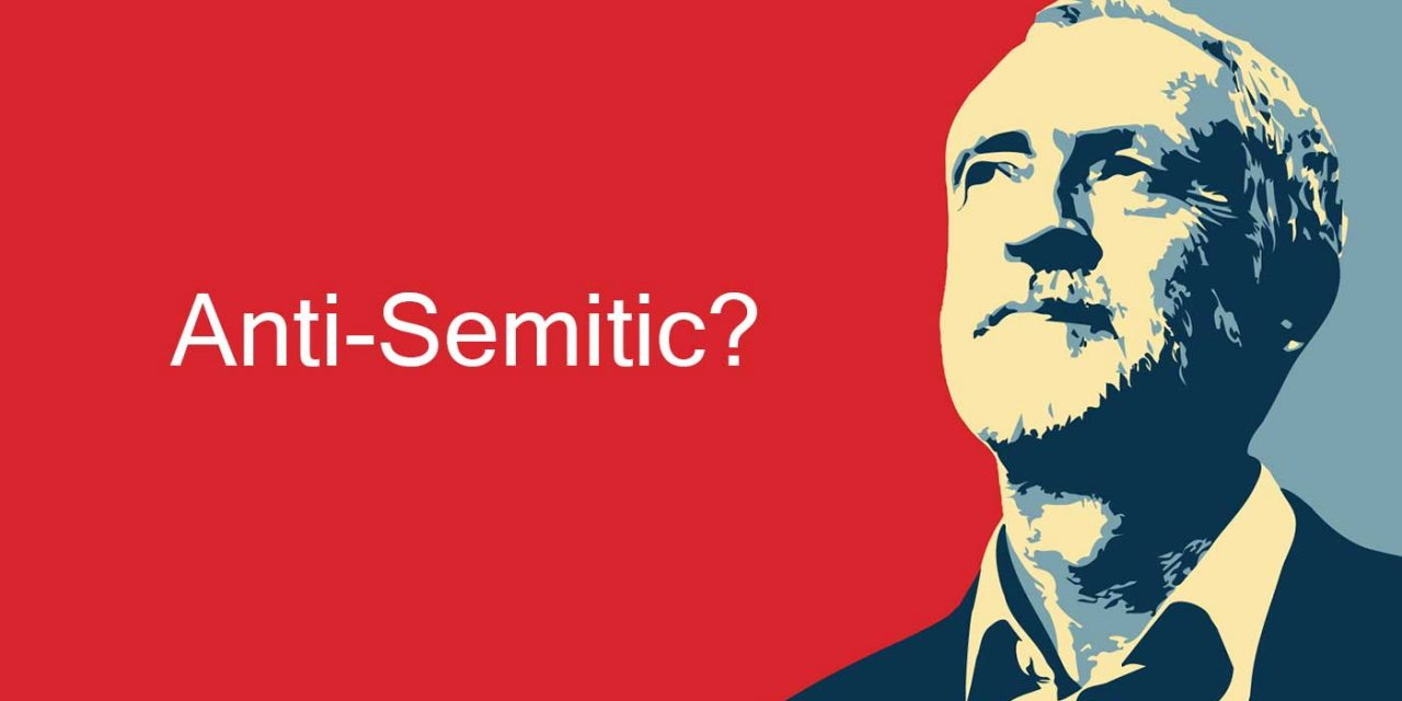 "Corbyn's actions place him in top ten of 2018's ""Worst Global Anti-Semitic Incidents"""