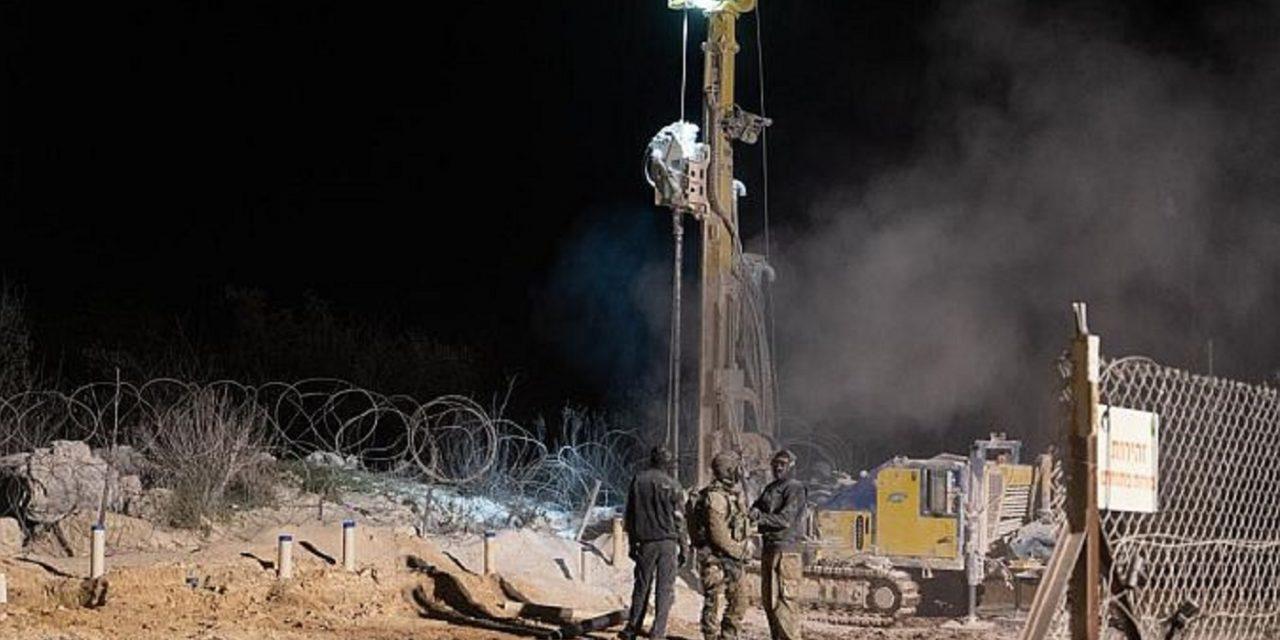 Israel destroys FIFTH Hezbollah tunnel at Lebanon border