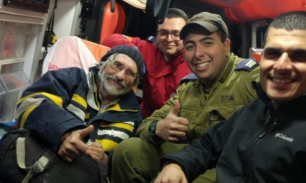 Israeli Navy saves French sailor LOST at sea for weeks