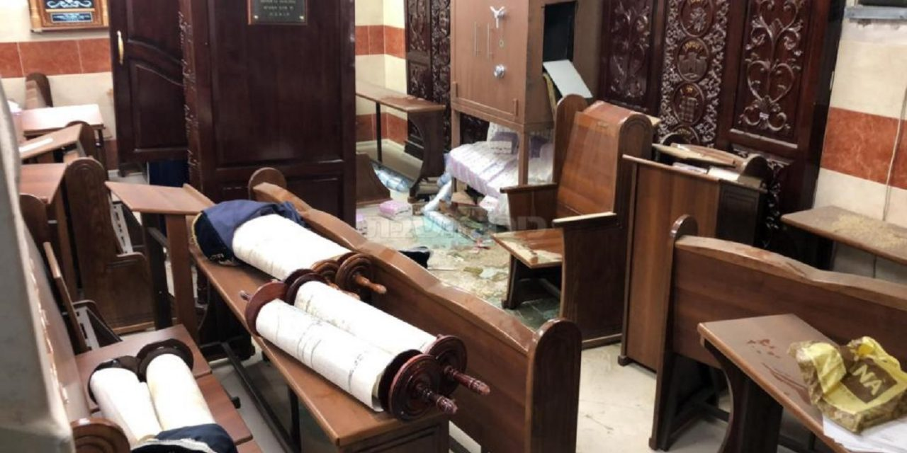 Jerusalem synagogue ransacked and Torah scrolls desecrated