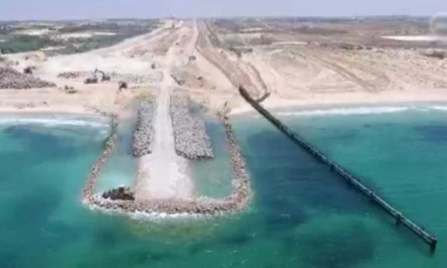Israel creates high tech sea barrier to protect against Hamas terrorism by sea