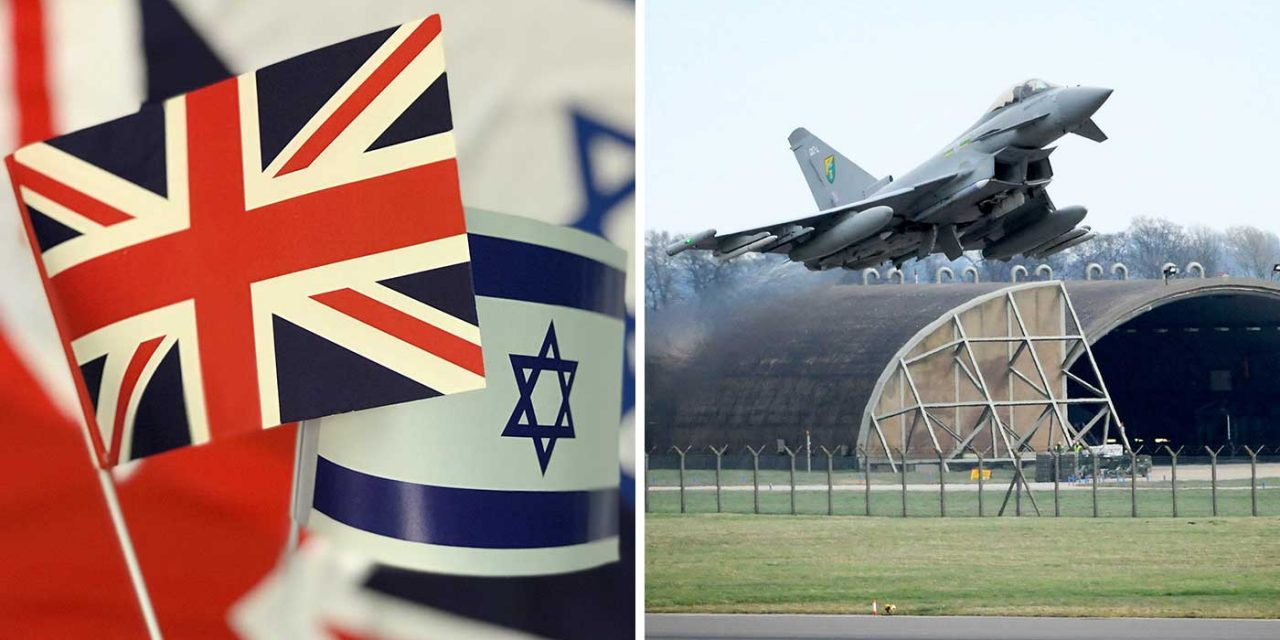 Royal Air Force hosts Israeli Air Force for historic joint exercise over UK skies