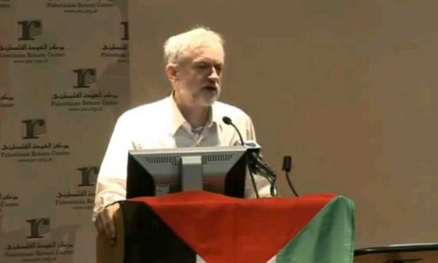 "Corbyn filmed applauding ""dismantle Israel"" speech as he CONDEMNS the people of Milton Keynes"