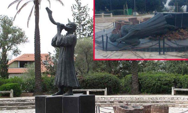 Holocaust monument vandalised in Israel near Tel Aviv