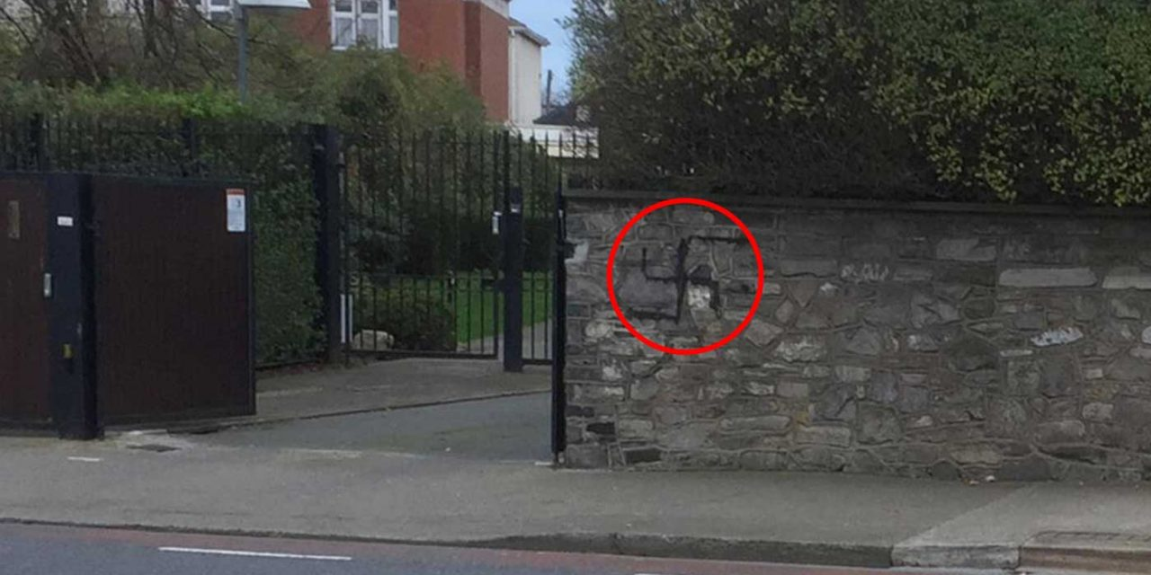 Dublin: Swastika daubed on wall of Ireland's oldest synagogue