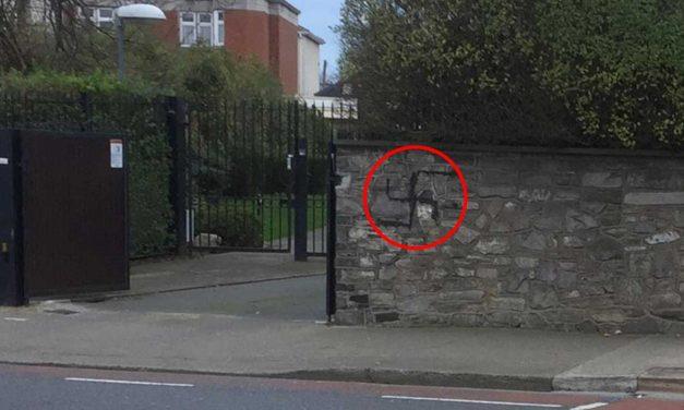 Dublin: Swastika daubed on wall of Ireland's oldest synagogue